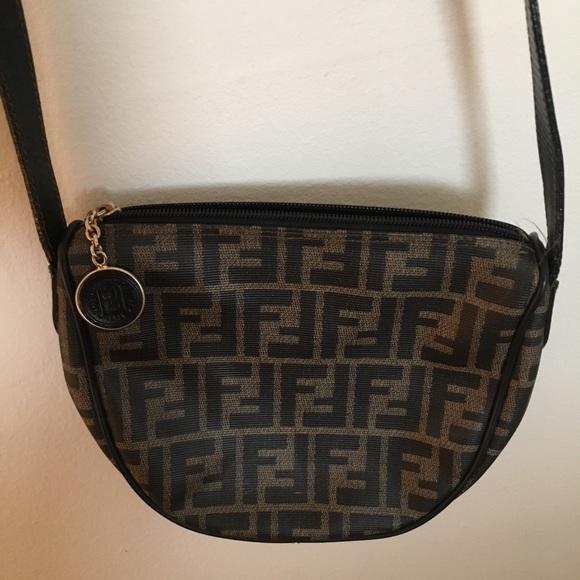 Fendi Handbags -  % AUTHENTIC VINTAGE Fendi crossbody bag! 0e8beda47ad4b